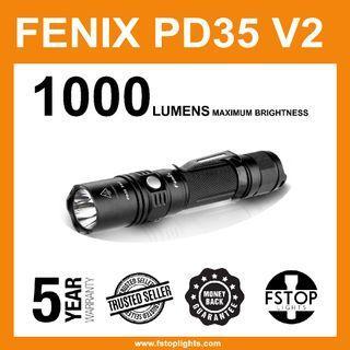 ★Fenix PD35 V2.0 1,000 Lumens LED Flashlight
