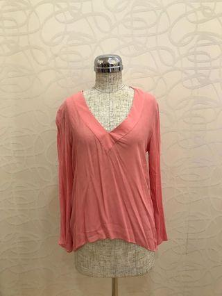 🚚 Zara Pink Top