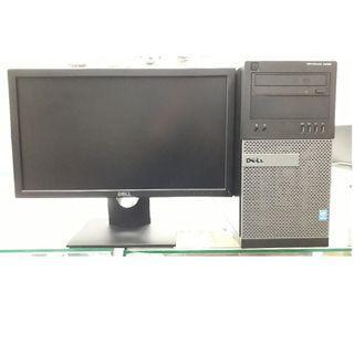 Dell Optiplex 9020 MT PC i7 - 4790 @3.6Ghz 8GB 1TB Graphics 1GB + 20' Monitor