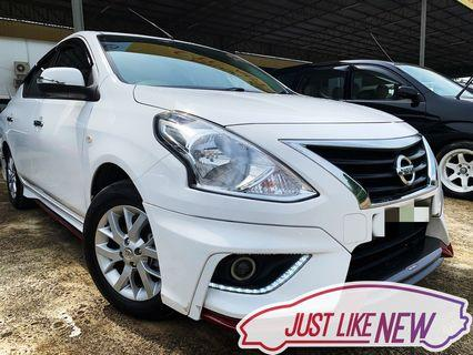 Nissan Almera 1.5 Auto‼️Full loan boleh‼️Takde lesen boleh‼️Ptptn problem boleh‼️