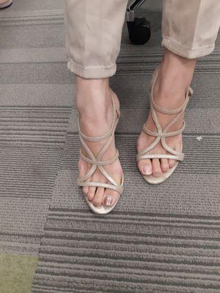 STACCATO SANDAL HEELS