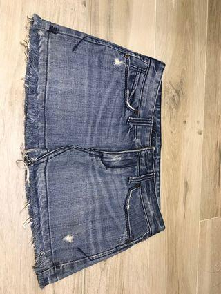 Abercrombie and Fitch denim skirt