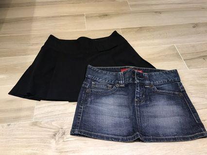 Guess skirts (2 for 50)