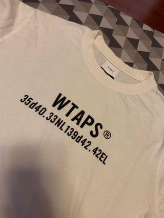 🚚 Wtaps 復刻 短袖 座標 m號