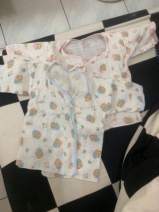 全新)寶寶紗布衣*3不拆開賣