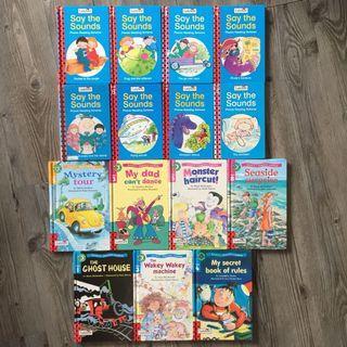 Ladybird readings, phonic reading scheme