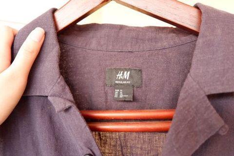 h&m shirt reguler fit