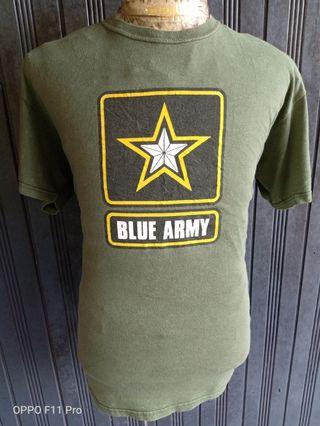 T SHIRT BLUE ARMY - NAVY - CAMO -