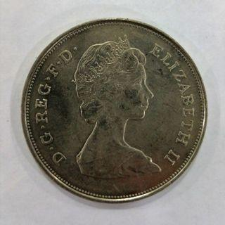 1981 - British Commemorative Coin (The Prince of Wales and Lady Diana Spencer)