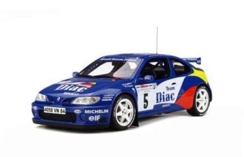 全新Otto mobile 1/18 Renault Megane Maxi Kit Car Rally Tour de Corse