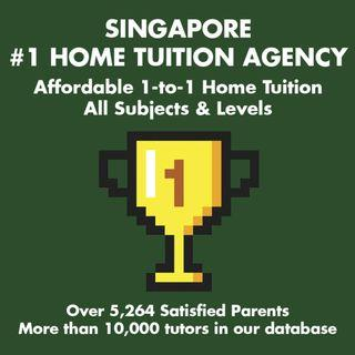 AFFORDABLE 1-to-1 Home Tuition Singapore: PSLE O Level N Level A Level IP IB English Mathematics Science Chinese Malay Tamil Biology Chemistry Physics Economics GP POA Maths H1 H2
