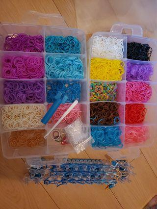 Rainbow Loom 彩色橡筋編織玩意