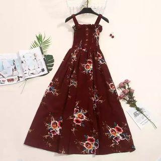 Maxi dress(red)