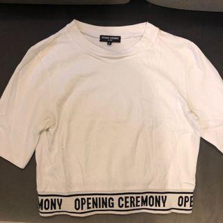 Open Ceremony cropped top tee