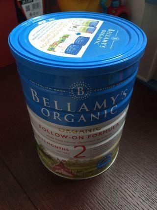 🚚 Bellamy's organic milk stage 2