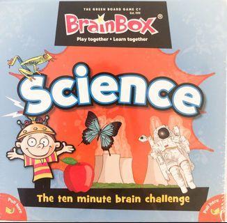 🚚 Brain Box Science (the ten minute brain challenge)