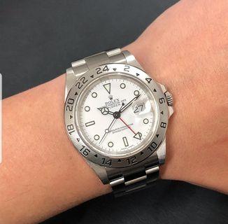 🚚 Rolex Explorer II 16570 watch only