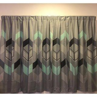 French Pleat Curtain, 1Pair (2pieces)