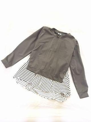 Basic blouse stripes
