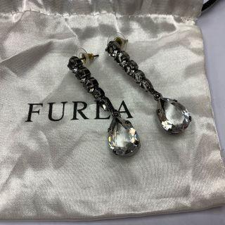 Furla crystal earrings