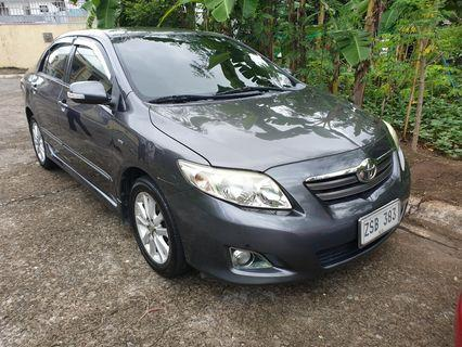 Toyota Altis V Top of the Line 1.6 engine 2008 Model Supergood Condition Super Fresh in and out