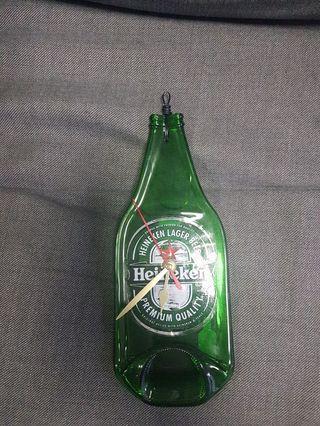 Carlberg bottle clock.