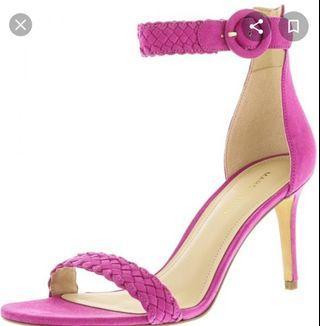 Pink heel sandal