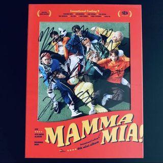 🚚 SF9 Mwave Signed Mamma Mia Album