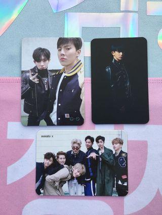 Monsta X Album Photocards