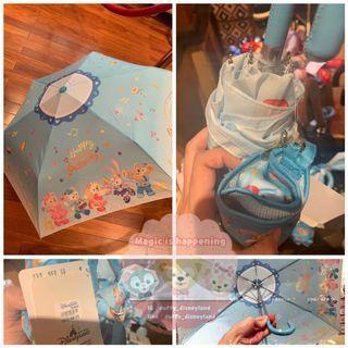 Disney 迪士尼Duffy Stella gelatoni cookie Shelliemay toystory mickey chip and dale 摺傘