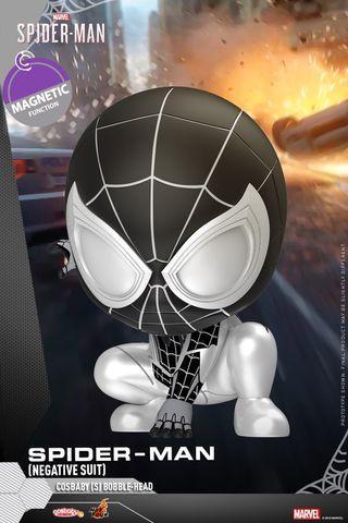 HotToys Marvel Cosbaby Negative Suit SpiderMan 蜘蛛俠