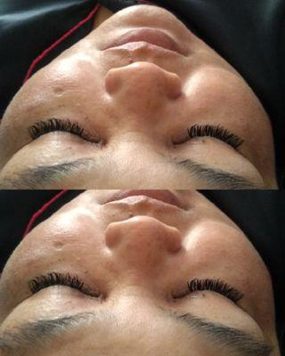 Natural eyelash by request