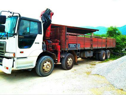 Transport lori lorry termurah