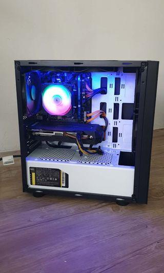 I5 Gaming & Designing Desktop PC CPU / GTX 1060 3GB / HyperX Fury 8GB RAM