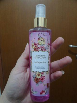 Body Mist Cologne Christian Chornardo Midnight Rose