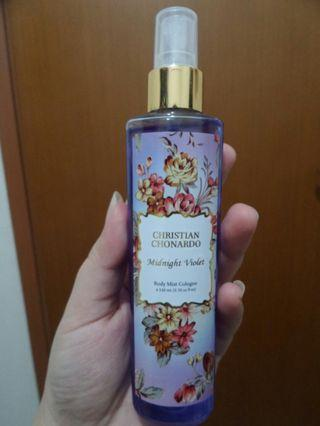 Body Mist Cologne Christian Chornardo Midnight Violet