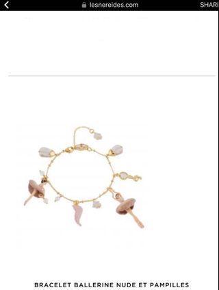 Les Nereides ballerina bracelet 手鏈