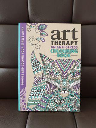 🚚 Art Therapy an Anti-Stress Hardbook Colouring Book