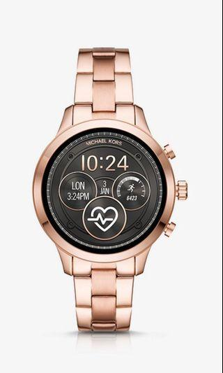 Bradshaw Rose Gold-Tone Smartwatch