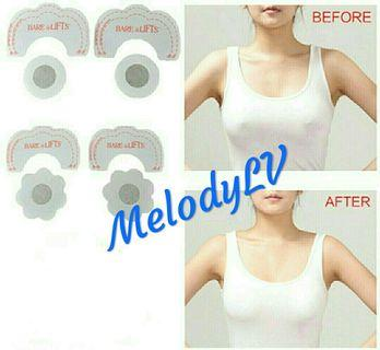 1 pair Instant Breast Lift Tits & Nipple Covers!