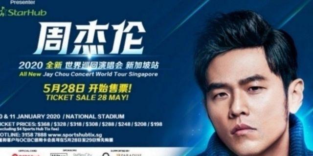 🚚 Jay chou concert tickets