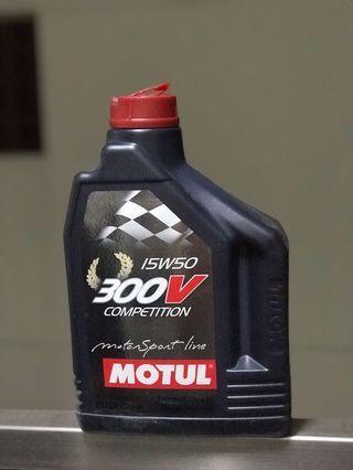 Motul 300v 15w50 Engine Oil