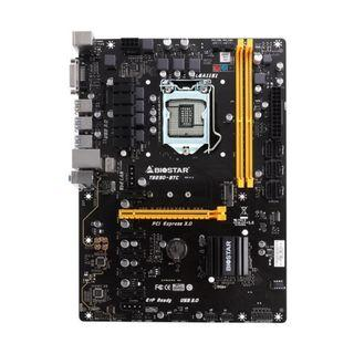 Biostar TB250-BTC LGA 1150 ATX motherboard support 6th/7th/ i3 8100  cpu (can bundle with I5 7500)