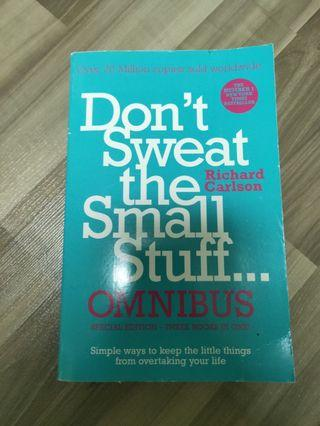 Don't sweat the small stuff SPECIAL EDITION 3 IN 1