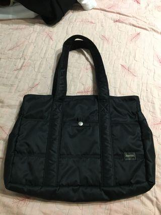 Porter 黑色尼龍肩背包 側背包