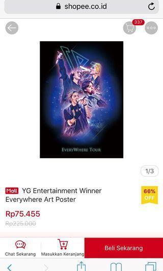 Yg merchandise winner everywhere art photo poster
