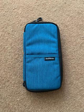 Travel Pouch for Passport and Cards