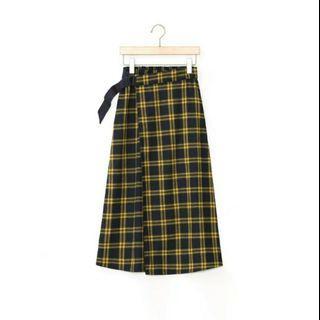 🚚 50%格紋半身裙