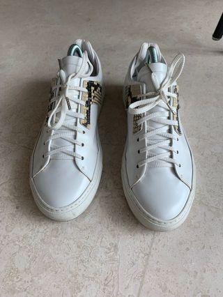 🚚 OAMC white snakeskin sneakers