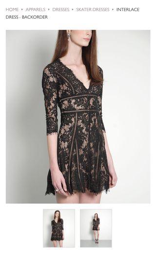 HVV BNWT Interlace Dress